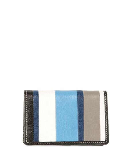 Bazar Striped Bi-Fold Card Case, Multi