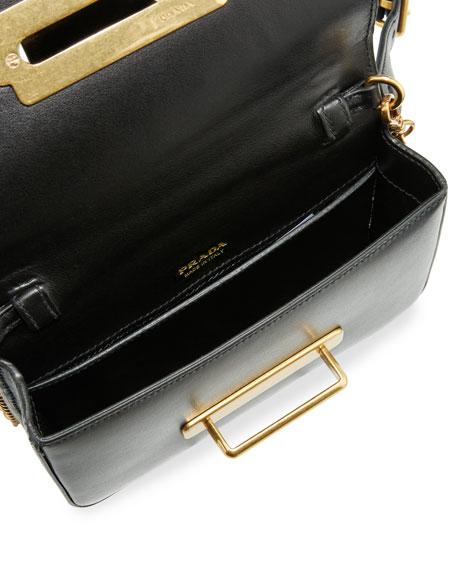 Cahier Small Leather Trunk Belt/Shoulder Bag