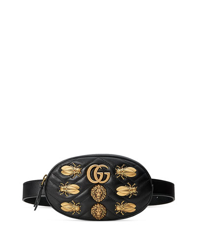 Small GG Marmont 2.0 Bug Belt Bag