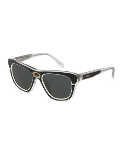 Transparent Acetate Sunglasses