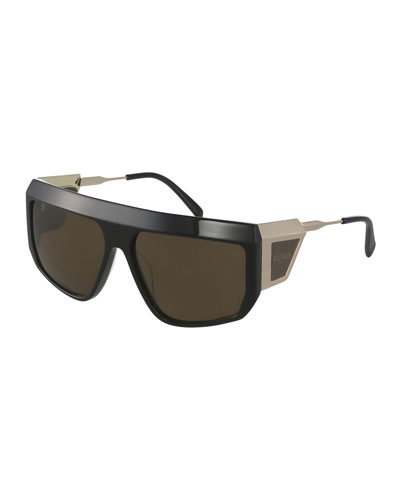 Wrap Shield Sunglasses