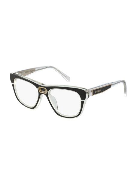 Transparent Acetate Optical Frames