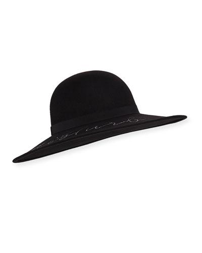 Honey Do not Disturb Wool Hat