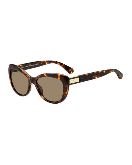 emmalynn cat-eye polarized sunglasses