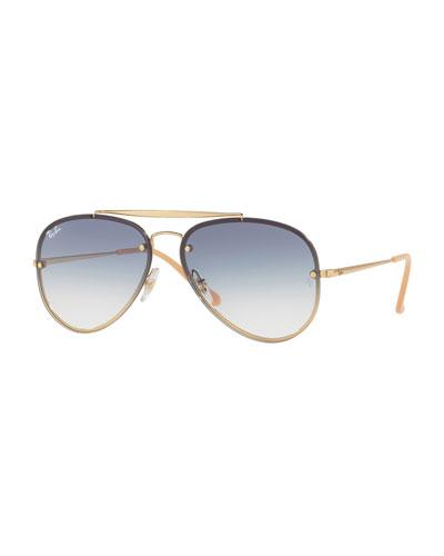 Brow Bar Aviator Sunglasses