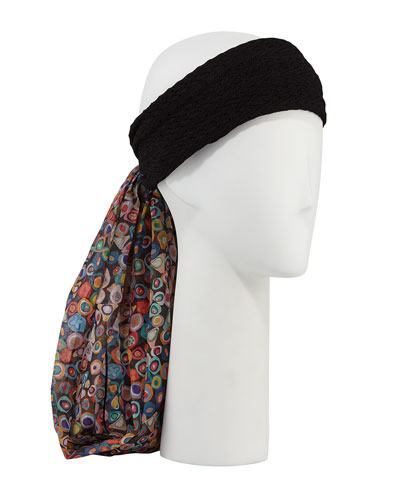 Cotton-Blend Head Wrap