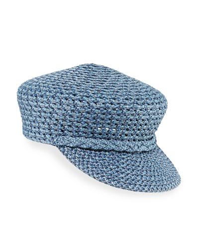 Capitan Woven Squishee Newsboy Hat
