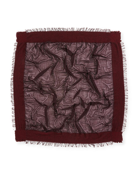 Isadora Woven Square Scarf