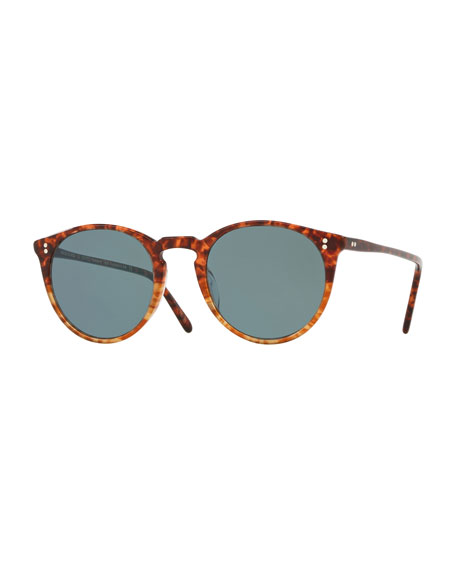 O'Malley Peaked Round Photochromic Sunglasses