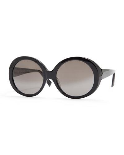 Iris Oval Acetate Sunglasses