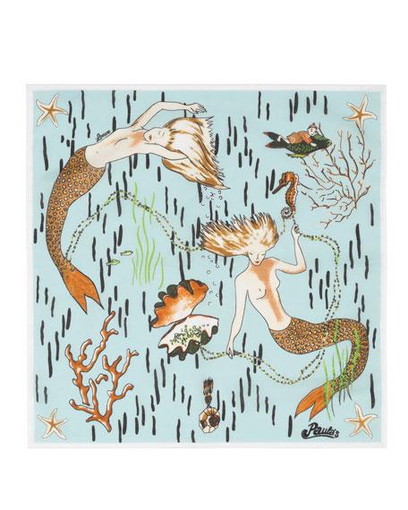 x Paula's Ibiza Mermaid Scarf