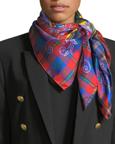 The Clans Square Silk Scarf
