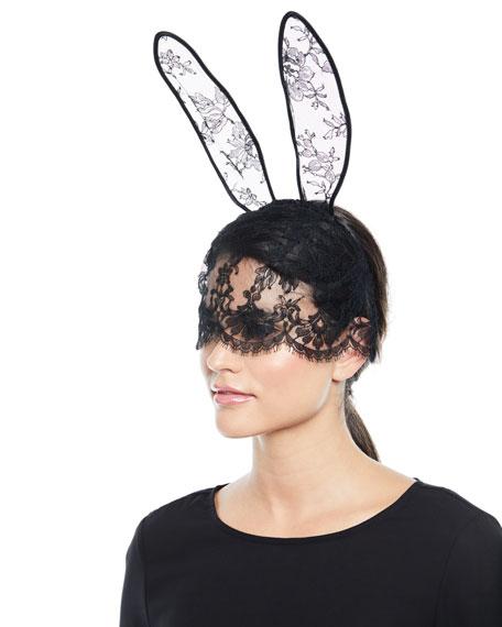 Fleur Du Mal Lace Mask & Bunny Ears