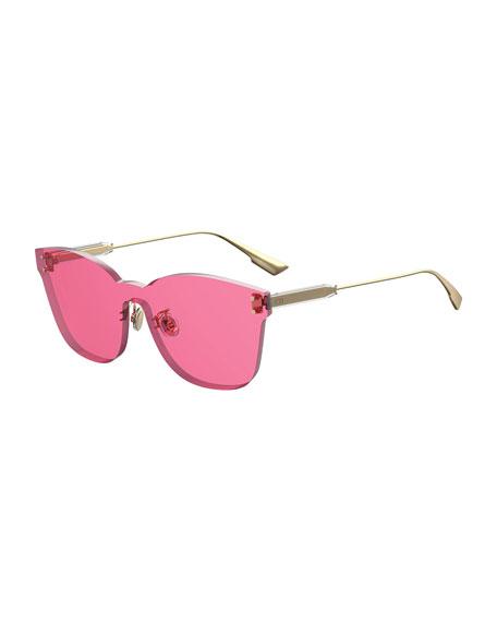 ColorQuake2 Rectangle Shield Sunglasses