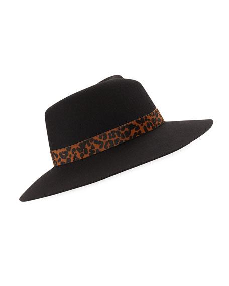 8636285a0af Rag   Bone Zoe Wool Fedora Hat
