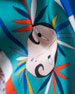An Oriental Illusion Printed Large Silk Scarf