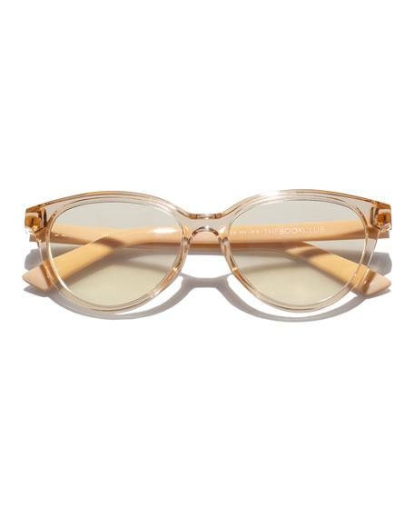The Art of Snore Cat-Eye Reader Glasses
