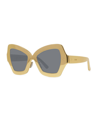 Aluminum Butterfly Sunglasses