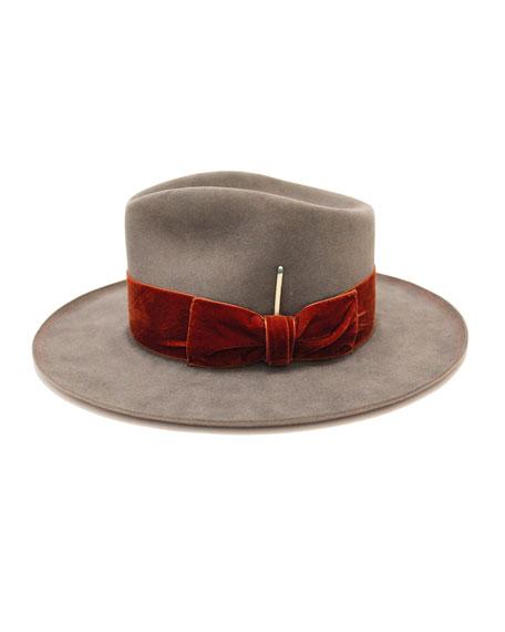 Publix Beaver Felt Fedora Hat