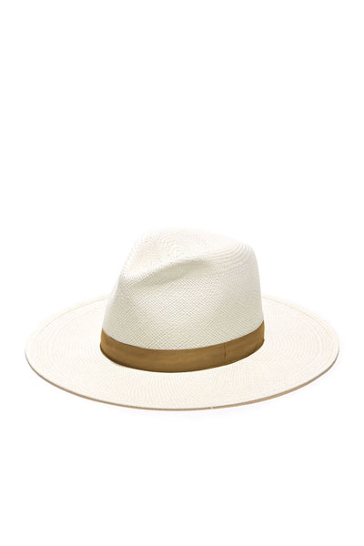 Aisley Straw Fedora Hat