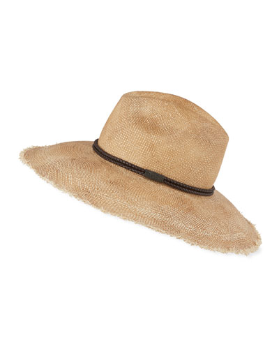 Monili Beaded Straw Hat