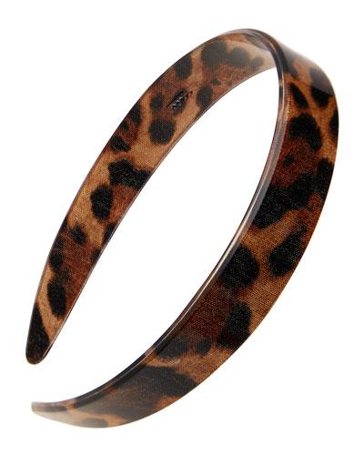 Leopard Print Acetate Headband