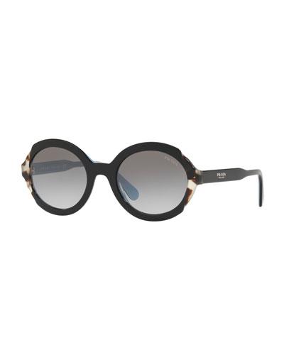 Oval Gradient Sunglasses