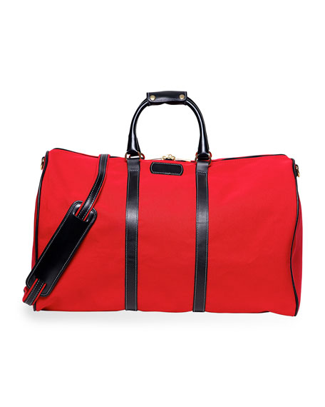 Classic Canvas Duffel Bag, Red