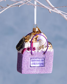 BG Shopping Bag Christmas Ornament