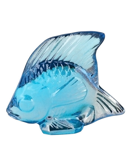 """Lustre"" Blue Fish"