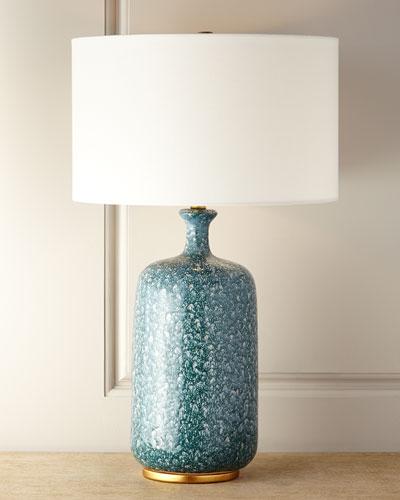 Culloden Green Lagoon Lamp
