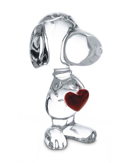 Snoopy with Heart Figurine