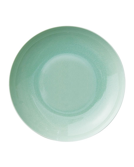 Seaglass Crackle Salad Bowl