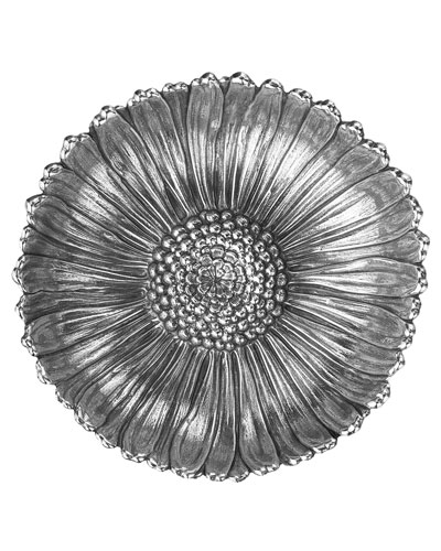 Sterling Silver Daisy Bowl