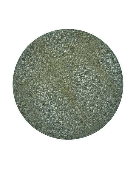 Shagreen Sage Placemat