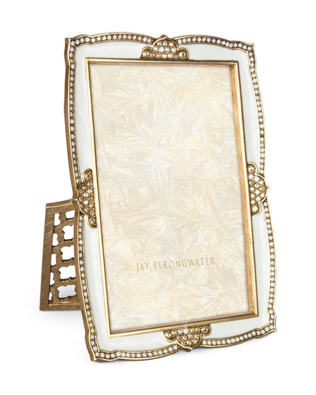 "Scalloped 4"" x 6"" Picture Frame"