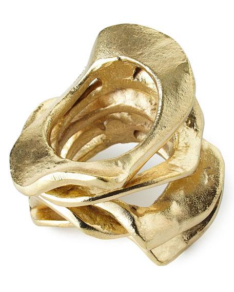 Kim Seybert Flux Napkin Ring