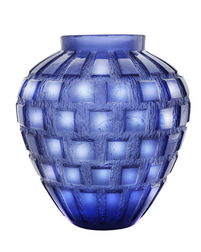 Blue Rhythms Vase