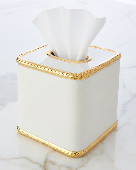 Rope Tissue Box Cover