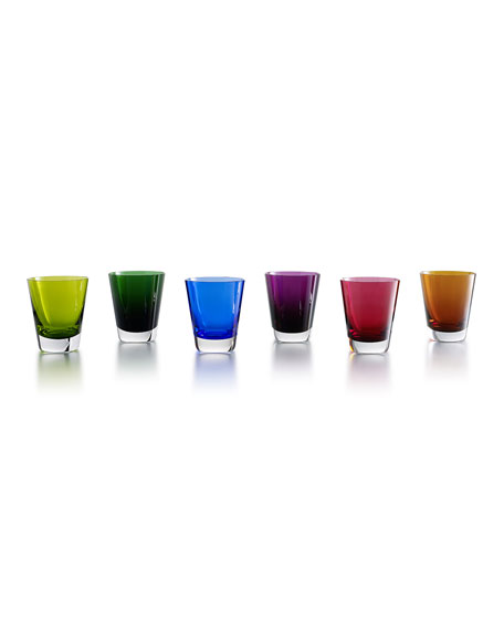 Mosaique Tumblers, 6-Piece Set