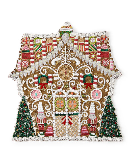 Kim Seybert Gingerbread House Placemat
