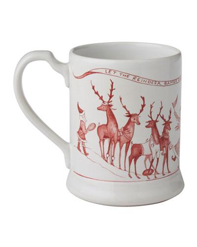 Country Estate Reindeer Games Mug