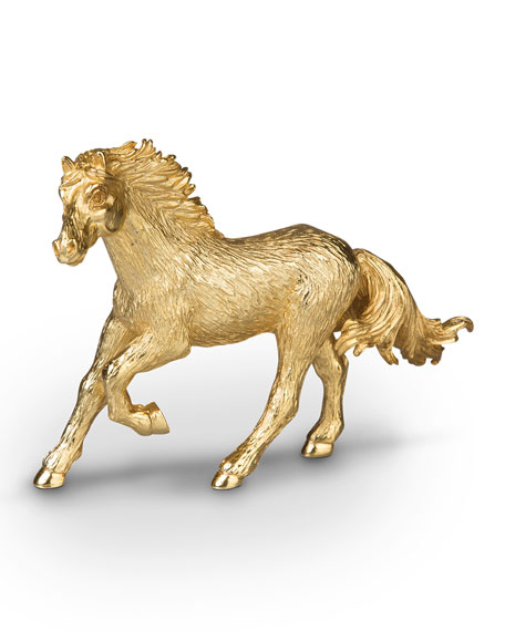 Small Horse Figurine
