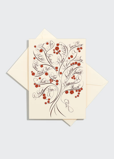 One Tree of Life Holiday Card