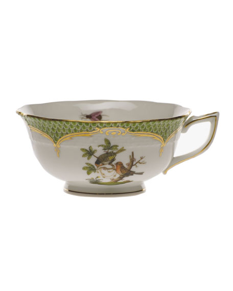 Rothschild Bird Green Motif 10 Tea Cup