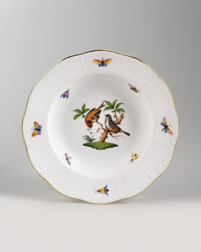 Rothschild Bird Soup Plate #12