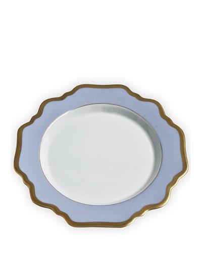 Anna's Palette Sky Blue Salad Plate