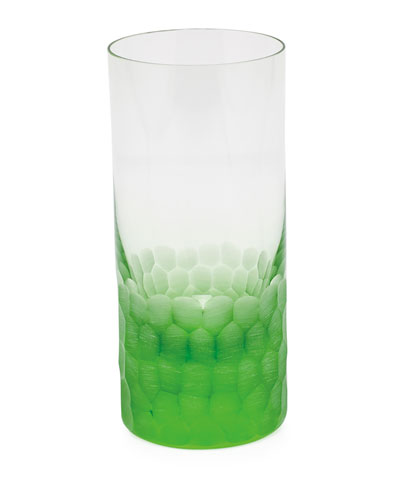 Pebbles Ocean Green Highball