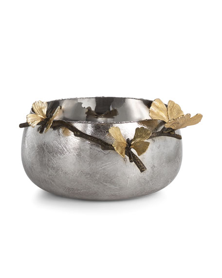 Butterfly Gingko Serving Bowl