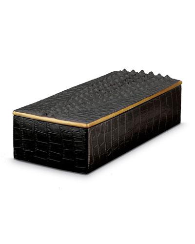 Crocodile Rectangular Box